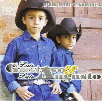 Luis Gustavo & Luis Augusto - Capa do 1º CD