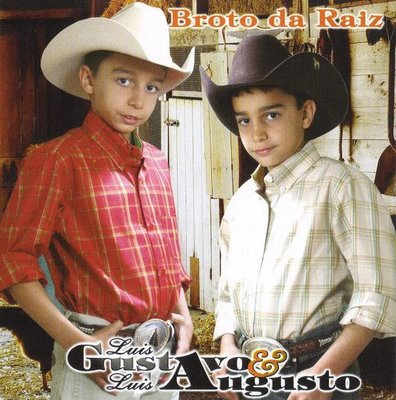 Luis Gustavo & Luis Augusto - Capa do 2º CD