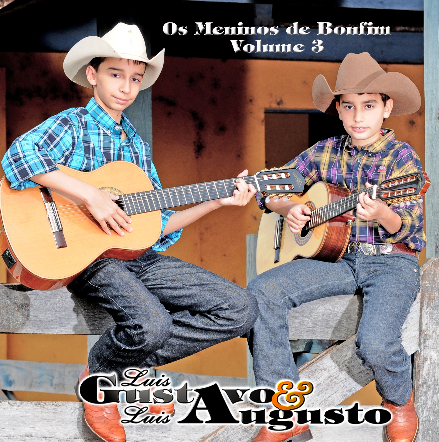 Luis Gustavo & Luis Augusto - Capa do 3º CD