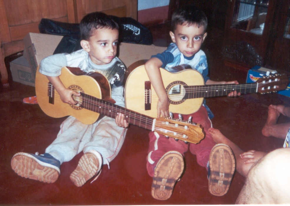 Luis Gustavo e Luis Augusto - Crianças