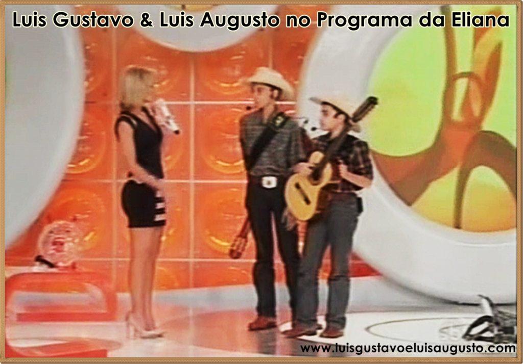 Luis Gustavo e Luis Augusto - Programa Eliana