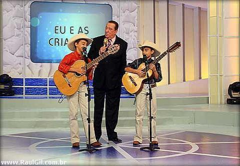 Luis Gustavo e Luis Augusto - Programa Raul Gil