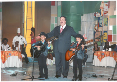 Luis Gustavo e Luis Augusto no Programa Sabadaço - Gilberto Barros